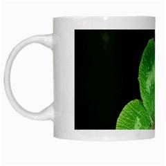Clover White Coffee Mug