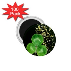 Clover 1 75  Button Magnet (100 Pack)