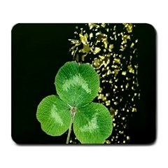 Clover Large Mouse Pad (rectangle)