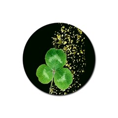 Clover Drink Coasters 4 Pack (Round)