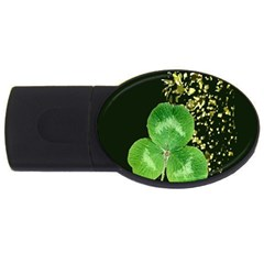 Clover 4GB USB Flash Drive (Oval)
