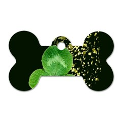 Clover Dog Tag Bone (Two Sided)