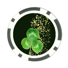 Clover Poker Chip (10 Pack)