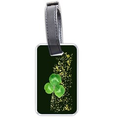 Clover Luggage Tag (Two Sides)