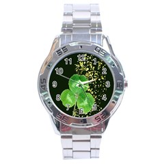 Clover Stainless Steel Watch