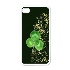 Clover Apple iPhone 4 Case (White)