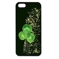 Clover Apple iPhone 5 Seamless Case (Black)