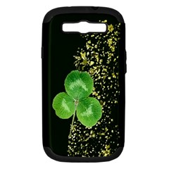 Clover Samsung Galaxy S Iii Hardshell Case (pc+silicone)