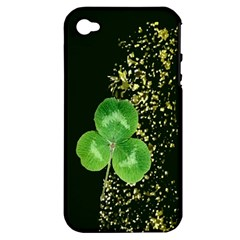 Clover Apple Iphone 4/4s Hardshell Case (pc+silicone)