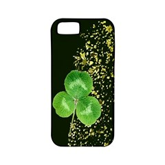 Clover Apple Iphone 5 Classic Hardshell Case (pc+silicone)