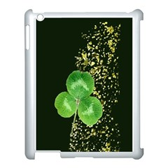Clover Apple Ipad 3/4 Case (white)