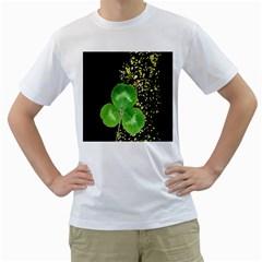 Clover Men s T-Shirt (White)
