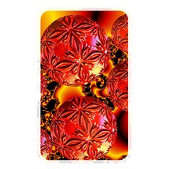 Flame Delights, Abstract Red Orange Memory Card Reader (Rectangular)