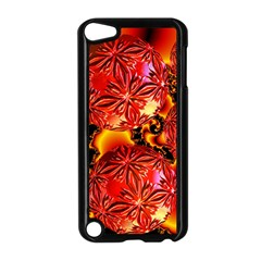 Flame Delights, Abstract Red Orange Apple iPod Touch 5 Case (Black)