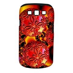 Flame Delights, Abstract Red Orange Samsung Galaxy S III Classic Hardshell Case (PC+Silicone)