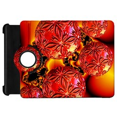 Flame Delights, Abstract Red Orange Kindle Fire Hd 7  (1st Gen) Flip 360 Case