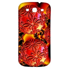 Flame Delights, Abstract Red Orange Samsung Galaxy S3 S Iii Classic Hardshell Back Case