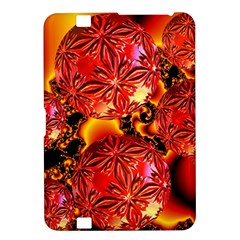Flame Delights, Abstract Red Orange Kindle Fire Hd 8 9  Hardshell Case
