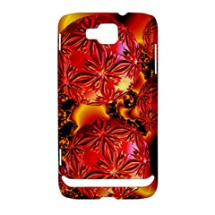 Flame Delights, Abstract Red Orange Samsung Ativ S i8750 Hardshell Case