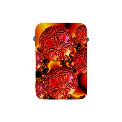 Flame Delights, Abstract Red Orange Apple iPad Mini Protective Sleeve