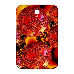 Flame Delights, Abstract Red Orange Samsung Galaxy Note 8.0 N5100 Hardshell Case