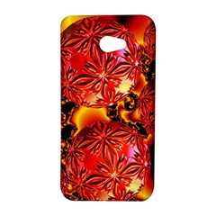 Flame Delights, Abstract Red Orange HTC Butterfly S Hardshell Case