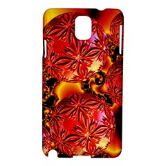 Flame Delights, Abstract Red Orange Samsung Galaxy Note 3 N9005 Hardshell Case