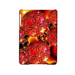 Flame Delights, Abstract Red Orange Apple iPad Mini 2 Hardshell Case