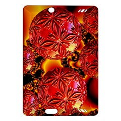 Flame Delights, Abstract Red Orange Kindle Fire HD 7  (2nd Gen) Hardshell Case