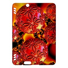 Flame Delights, Abstract Red Orange Kindle Fire Hdx 7  Hardshell Case