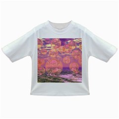 Glorious Skies, Abstract Pink And Yellow Dream Baby T-shirt