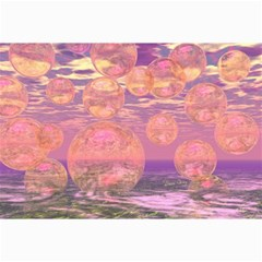 Glorious Skies, Abstract Pink And Yellow Dream Canvas 24  x 36  (Unframed)