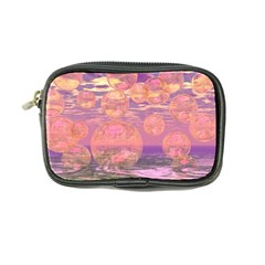 Glorious Skies, Abstract Pink And Yellow Dream Coin Purse