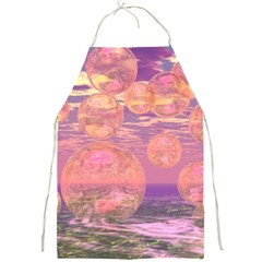 Glorious Skies, Abstract Pink And Yellow Dream Apron