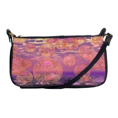 Glorious Skies, Abstract Pink And Yellow Dream Evening Bag