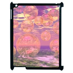 Glorious Skies, Abstract Pink And Yellow Dream Apple iPad 2 Case (Black)