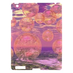 Glorious Skies, Abstract Pink And Yellow Dream Apple iPad 3/4 Hardshell Case