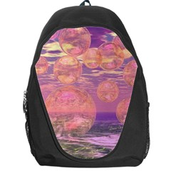 Glorious Skies, Abstract Pink And Yellow Dream Backpack Bag