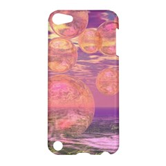 Glorious Skies, Abstract Pink And Yellow Dream Apple Ipod Touch 5 Hardshell Case