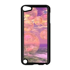 Glorious Skies, Abstract Pink And Yellow Dream Apple iPod Touch 5 Case (Black)