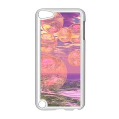 Glorious Skies, Abstract Pink And Yellow Dream Apple iPod Touch 5 Case (White)
