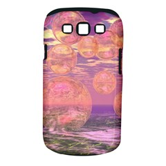 Glorious Skies, Abstract Pink And Yellow Dream Samsung Galaxy S III Classic Hardshell Case (PC+Silicone)