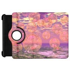 Glorious Skies, Abstract Pink And Yellow Dream Kindle Fire HD 7  (1st Gen) Flip 360 Case