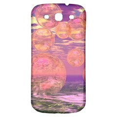 Glorious Skies, Abstract Pink And Yellow Dream Samsung Galaxy S3 S Iii Classic Hardshell Back Case