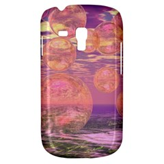 Glorious Skies, Abstract Pink And Yellow Dream Samsung Galaxy S3 MINI I8190 Hardshell Case