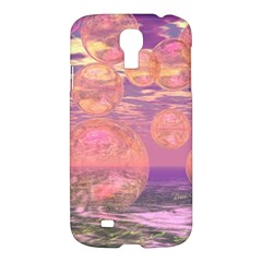 Glorious Skies, Abstract Pink And Yellow Dream Samsung Galaxy S4 I9500/i9505 Hardshell Case