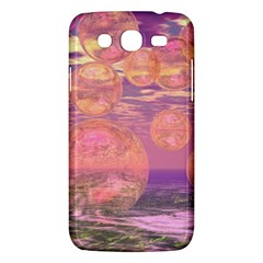 Glorious Skies, Abstract Pink And Yellow Dream Samsung Galaxy Mega 5.8 I9152 Hardshell Case