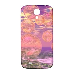 Glorious Skies, Abstract Pink And Yellow Dream Samsung Galaxy S4 I9500/I9505  Hardshell Back Case