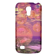 Glorious Skies, Abstract Pink And Yellow Dream Samsung Galaxy S4 Mini (gt I9190) Hardshell Case