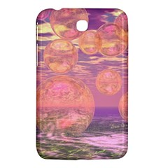Glorious Skies, Abstract Pink And Yellow Dream Samsung Galaxy Tab 3 (7 ) P3200 Hardshell Case